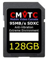 128GBSD; 128GB SD XC U3 C10 High Vibration SD XC Card for Commercial Environments